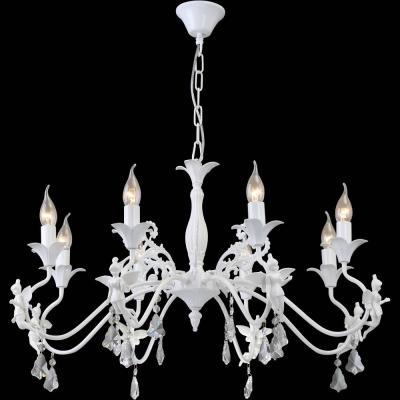 Подвесная люстра Arte Lamp Angelina A5349LM-8WH