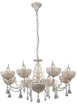 Подвесная люстра Arte Lamp Fleece A4554LM-8WG arte lamp подвесная люстра arte lamp bellator a8959sp 5br
