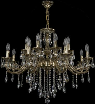 Подвесная люстра Bohemia Ivele 1703/16/320/B/GB подвесная люстра bohemia ivele crystal 1703 16 320 b gb