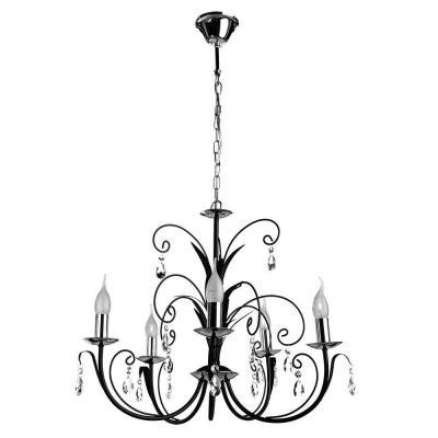Подвесная люстра Arte Lamp Romana A1742LM-5BK