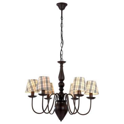 Подвесная люстра Arte Lamp Scotch A3090LM-6CK arte lamp подвесная люстра arte lamp bellator a8959sp 5br