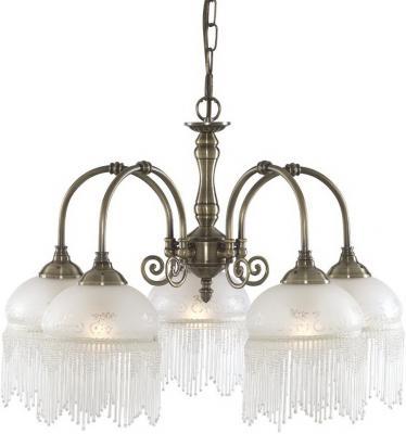 Подвесная люстра Arte Lamp Victoriana A3191LM-5AB arte lamp подвесная люстра arte lamp bellator a8959sp 5br
