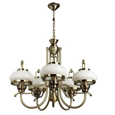 купить Подвесная люстра Arte Lamp Armstrong A3560LM-5AB по цене 24160 рублей
