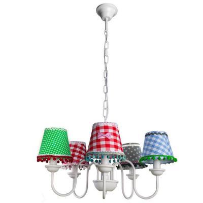 Подвесная люстра Arte Lamp Provence A5165LM-5WH arte lamp подвесная люстра arte lamp bellator a8959sp 5br
