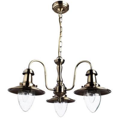 Купить Подвесная люстра Arte Lamp Fisherman A5518LM-3AB