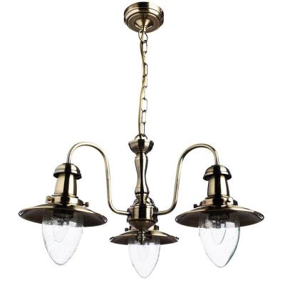 Подвесная люстра Arte Lamp Fisherman A5518LM-3AB arte lamp подвесная люстра arte lamp bellator a8959sp 5br