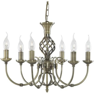 Подвесная люстра Arte Lamp Zanzibar A8392LM-6AB arte lamp подвесная люстра arte lamp bellator a8959sp 5br