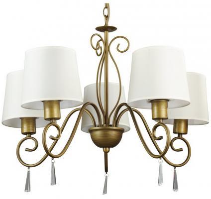 Подвесная люстра Arte Lamp Carolina A9239LM-5BR потолочная люстра arte lamp mormorio a9361pl 5br