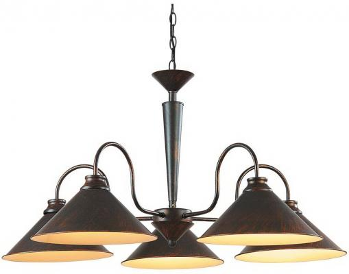 Подвесная люстра Arte Lamp Cone A9330LM-5BR потолочная люстра arte lamp mormorio a9361pl 5br