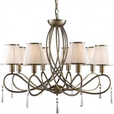 Подвесная люстра Arte Lamp Logico A1035LM-8AB arte lamp подвесная люстра arte antwerp a1029lm 8ab