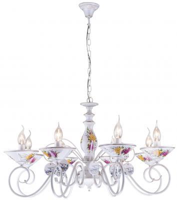 Подвесная люстра Arte Lamp Fiorato A2061LM-8WG arte lamp подвесная люстра arte lamp bellator a8959sp 5br