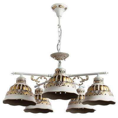 Подвесная люстра Arte Lamp Chiesa A2814LM-5WG arte lamp подвесная люстра arte lamp bellator a8959sp 5br