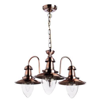 Подвесная люстра Arte Lamp Fisherman A5518LM-3RB arte lamp подвесная люстра arte lamp bellator a8959sp 5br
