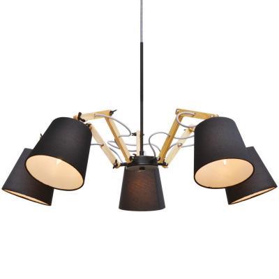 Подвесная люстра Arte Lamp Pinoccio A5700LM-5BK подвесная люстра arte lamp pinoccio a5703lm 6wh