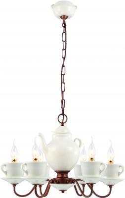 Подвесная люстра Arte Lamp Servizio A6483LM-6WH бра arte lamp servizio a6483ap 1wh
