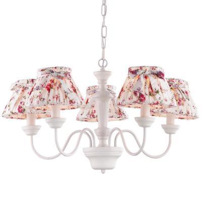 Подвесная люстра Arte Lamp Bambina A7020LM-5WH arte lamp подвесная люстра arte lamp bellator a8959sp 5br