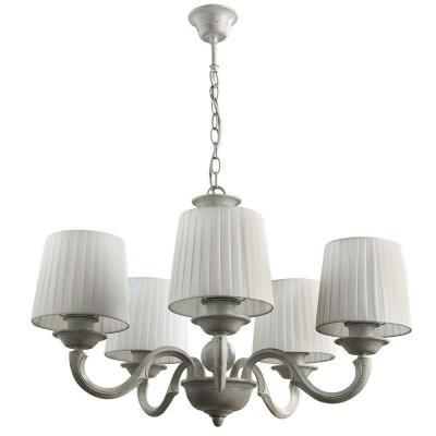 Подвесная люстра Arte Lamp Alba A9395LM-5WG люстра arte lamp alba a9395lm 8wg