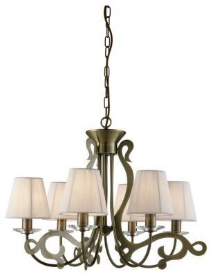 Подвесная люстра Arte Lamp Lizzy A9531LM-6AB arte lamp подвесная люстра arte lamp bellator a8959sp 5br