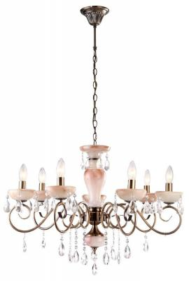 цена на Подвесная люстра Arte Lamp Onyx Red A9591LM-7AB