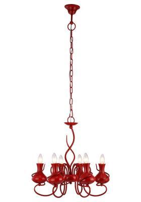 Подвесная люстра Arte Lamp Vaso A6819LM-6RD