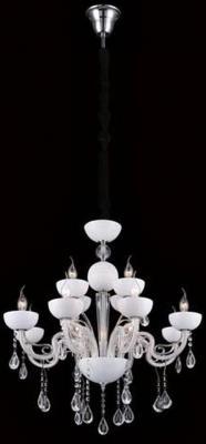 Подвесная люстра Crystal Lux Luccila SP8+4 White crystal lux бра crystal lux luccila ap2 white