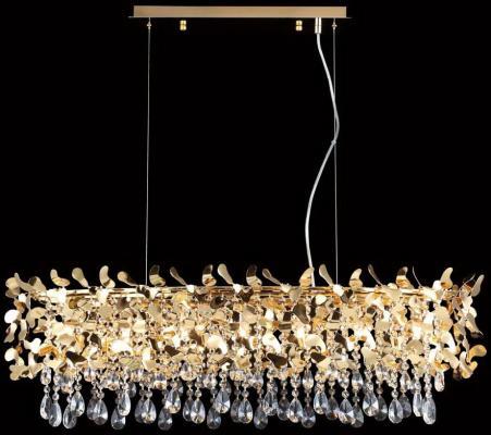 Подвесная люстра Crystal Lux Romeo SP8 Gold L1000 подвесная люстра crystal lux deseo sp12 l1000 gold