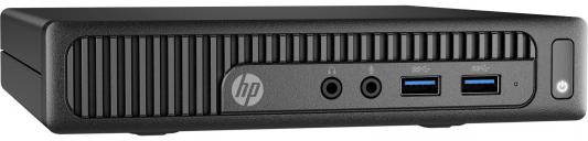 Неттоп HP 260 G2 Mini Intel Pentium-4405U 4Gb 500Gb Intel HD Graphics 510 64 Мб DOS черный W4A56EA W4A56EA