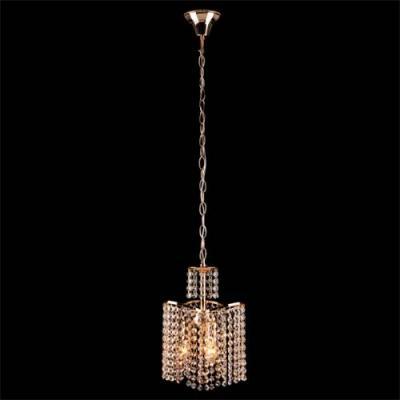 Подвесная люстра Eurosvet 3123/3 золото Strotskis потолочный светильник eurosvet 3123 3 золото прозрачный хрусталь strotskis