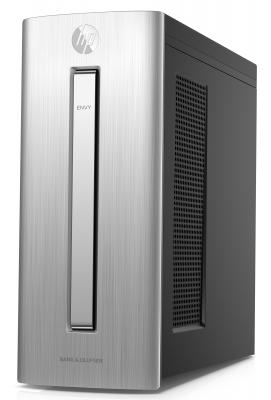 Системный блок HP Envy 750 750-353ur i5-6400 2.7GHz 8Gb 2Tb  GTX970 4Gb DVD-RW Win10 клавиатура мышь серебристый X1A86EA#ACB