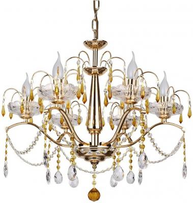 Подвесная люстра IDLamp Fiorenza 258/6-Gold idlamp 258 258 8 gold