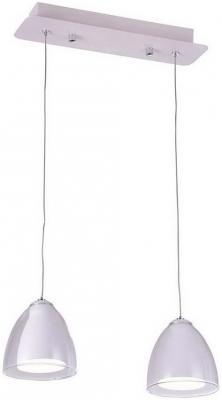 Подвесная люстра IDLamp Mirella 394/2-LEDWhite idlamp idlamp 394 2 ledwhite