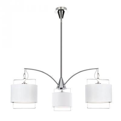 Подвесная люстра Luce Solara Moderno 3001/3 White moderno 3033 6pl white glass luce solara 1142985