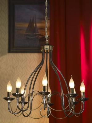 Подвесная люстра Lussole Todi LSA-4613-08 люстра lsa 4613 08 lussole гостиной для спальни для кухни