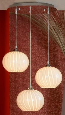 Подвесная люстра Lussole Cesano LSF-7206-03 потолочная люстра lussole cesano lsf 7203 06
