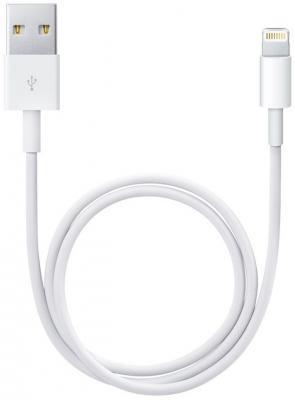 Кабель Lightning 1м Gembird круглый белый CC-USB-AP2MWP