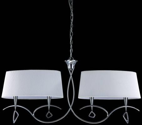 Подвесная люстра Mantra Mara Chrome - White 1642 подвесная люстра mantra mara chrome white 1640