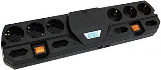 Сетевой фильтр MOST THV черный 10 розеток 5 м