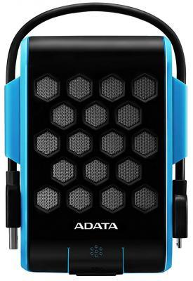 """Внешний жесткий диск 2.5"""" USB3.0 1Tb A-Data HD720 AHD720-1TU3-CBL синий внешний жесткий диск a data dashdrive durable hd710 1тб синий [ahd710 1tu3 cbl]"""