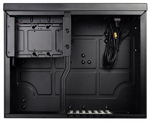 Корпус ATX SilverStone SST-GD09B Без БП чёрный