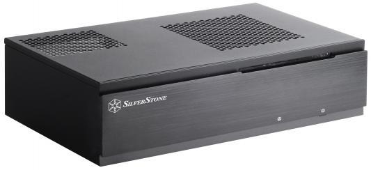 Корпус mini-ITX SilverStone Milo ML06B Без БП чёрный