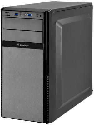 Корпус ATX SilverStone Precision PS11B-Q Без БП чёрный цена