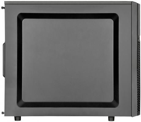 Корпус ATX SilverStone Precision PS11B-Q Без БП чёрный