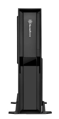 Корпус mini-ITX SilverStone Milo ML08B Без БП чёрный