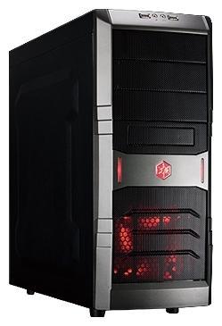 Корпус ATX SilverStone RedLine SST-RL01B-W-USB 3.0 Без БП чёрный