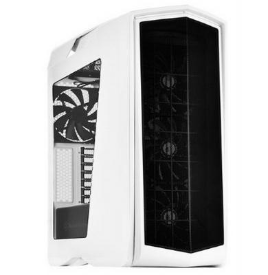 Корпус ATX SilverStone Primera SST-PM01WA-W Без БП белый