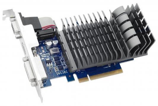 Видеокарта 1024Mb ASUS GeForce GT710 PCI-E 64bit GDDR3 DVI HDMI  VGA 710-1-SL Retail