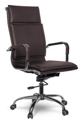 Кресло College XH-635 экокожа коричневый