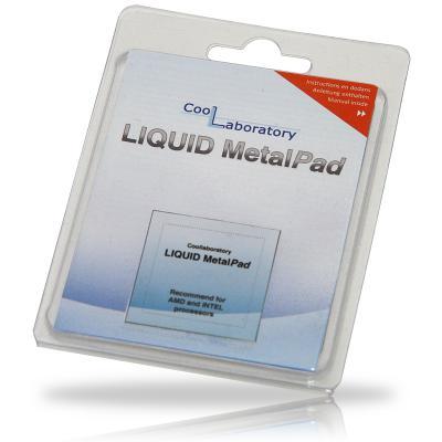 Термоинтерфейс CoolLaboratory Liquid MetalPad CL-MP-1C