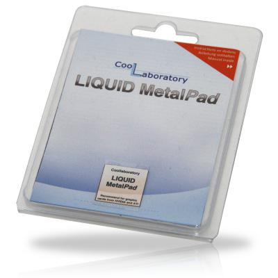 Термоинтерфейс CoolLaboratory Liquid MetalPad CL-MP-1G