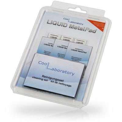 Термоинтерфейс CoolLaboratory Liquid MetalPad CL-MP-3C3G-CS